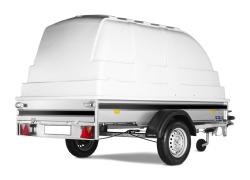 Släpvagn Kåpa 4m³ 0-3h: 149 kr